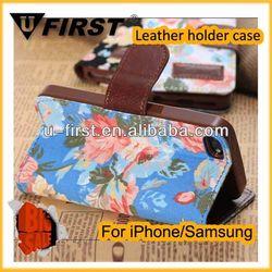 Wholesale fancy designer free sample leather case
