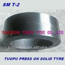 solid trailer tyre 36x16x30, passenger boarding bridge tyre 36x16x30