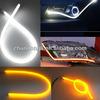 High quality dual color led flexible drl with 45cm/60cm/85cm