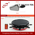 electric portable charcoal bbq grill with hot pot
