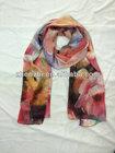 Girl's fashion 3D printed scarf HIJAB