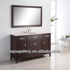 60 Inch Modern Bathroom Vanity Set