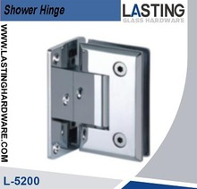 Chrome plated Heavy duty shower hinge for galss door