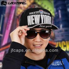NEW YORK flat peak cap cityname baseballcap snapback hippop cap