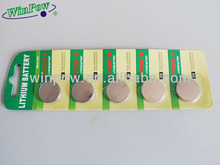 button cells Cr2016 /Cr2032/Cr2025 battery 3v with high quality