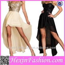 wholesale short front long back prom dress 2014