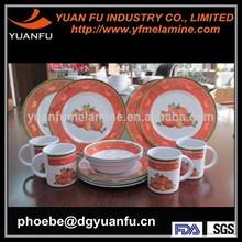 SGS,LFGB,CE,FDA Hot plastic melamine dinnerware