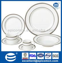 Utensilios para el hogar de china, utensilios para el hogar 42 fabricante de piezas de la gracia de diseño de plata