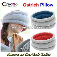Magical Ostrich Pillow Light Portable Neckerchief Traveling Nap Ostrich Pillow