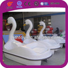 New design 2 person white swan pedal boat hight quality small boat