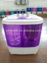 Semi Automatic Twin Tub Washing Machine 3.6KG purple-2