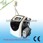 BYI-A003 rf cryotherapy fat loss slimming vibrating fat loss machine with 8 lsaer pads