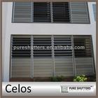 Celos 152mm Aluminum commercial Jalousie window frames