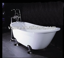 whole sale hotel discount on sale hammered copper color legs bathtub