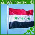 prodotto caldo nuovo di alta qualità iraq 3d poliestere bandiera nazionale nuovo