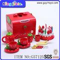Popular de madera de corte de fruta juguete