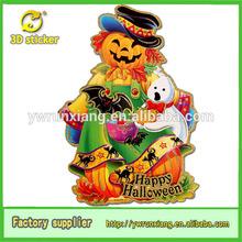 Fashion Design Mr. Pumpkin Paper figure Halloween Decorative Sticker
