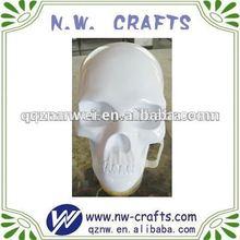 Handmade resin glossy skull art minds crafts