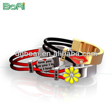 latest design elastic string bracelet