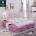 Design moderno Fashional tecido de cama de rosa CSY-C7030