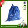 2014 Hot Sales cheap eco-friendly blue nonwoven drawstring bag