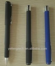 cheap plastic gel ink pen / black and blue office gel pen