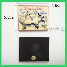 custom china magnet board/ OEM 3D Wood fridge magnet