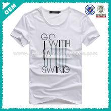 High Quality DIY Custom Shirts/Men's Fashion TEE/ India T-shirts Factory (lyt010098)