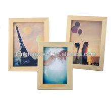 Desktop 4*6 Wooden Picture Frame for Decoration