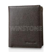 RFID Fashion genuine leather wallet for men