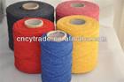 recycled/regenerated friction spun cotton mop yarn/bulk yarn for carpet
