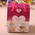 Chine mini boîtes paquet de papier en gros, papier cadeau paquet box, faveur de mariage