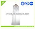 Hochwertige individuelle klarem pvc/peva brauthochzeitskleid kleidungsstück kleidersack