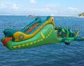 Alligator Challenge Water Slide, inflatable water sports games ,inflatable water park games