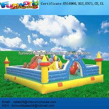 The Blue Ocean Inflatable Amusement Park ,Funny City For Sale