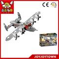 Macchina volante e costruzione di blocchi giocattolo mattone del giocattolo tote& compagno di giochi giocattolo compatibile minifigure 84007 pezzi