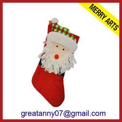 Yiwu hot sale new design dog treat christmas socks funny christmas sock