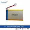 lithium polymer battery 3.7v 3000mah li polymer battery,rechargeable 3.7v flat lithium polymer battery 3000mAh