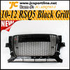 10-12 Black ABS RSQ5 Mesh Grille ,Q5 Front Car Grill for AUDI