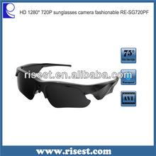 SG100 Waterproof Hidden Camera with Sexy Photos Best Sunglass Hidden Cameras