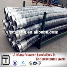 Direct factory high pressure DN125*3M/4M Concrete Pump Rubber Hose