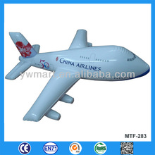 China airlines inflatble plane toy