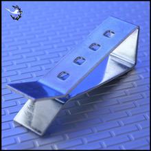 Custom spring loaded money clip