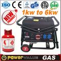 Gas natural tipo japón 2 2.5 kva kva 2.8 kva y 3 kva kva 4 5 6 kva kva generador de suzuki para la venta con precio de fábrica