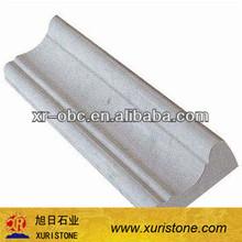 Chinese beige marble stone border line,border line design
