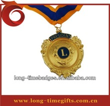 Custom award medal/ trophy medals/lion 's club medal