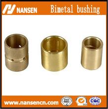 wrapped oilless copper bronze bushings /sliding oil sintered brass bushing /oiles slide split bronze bush