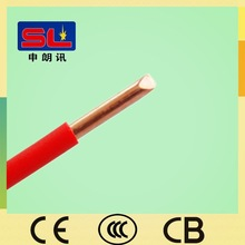 450/750V PVC Electric Cable 4mm Single Core Copper Building Wire