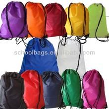 2014 Economical Drawstring school bag backpack