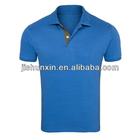 Newest breathable blue bulk polo shirts